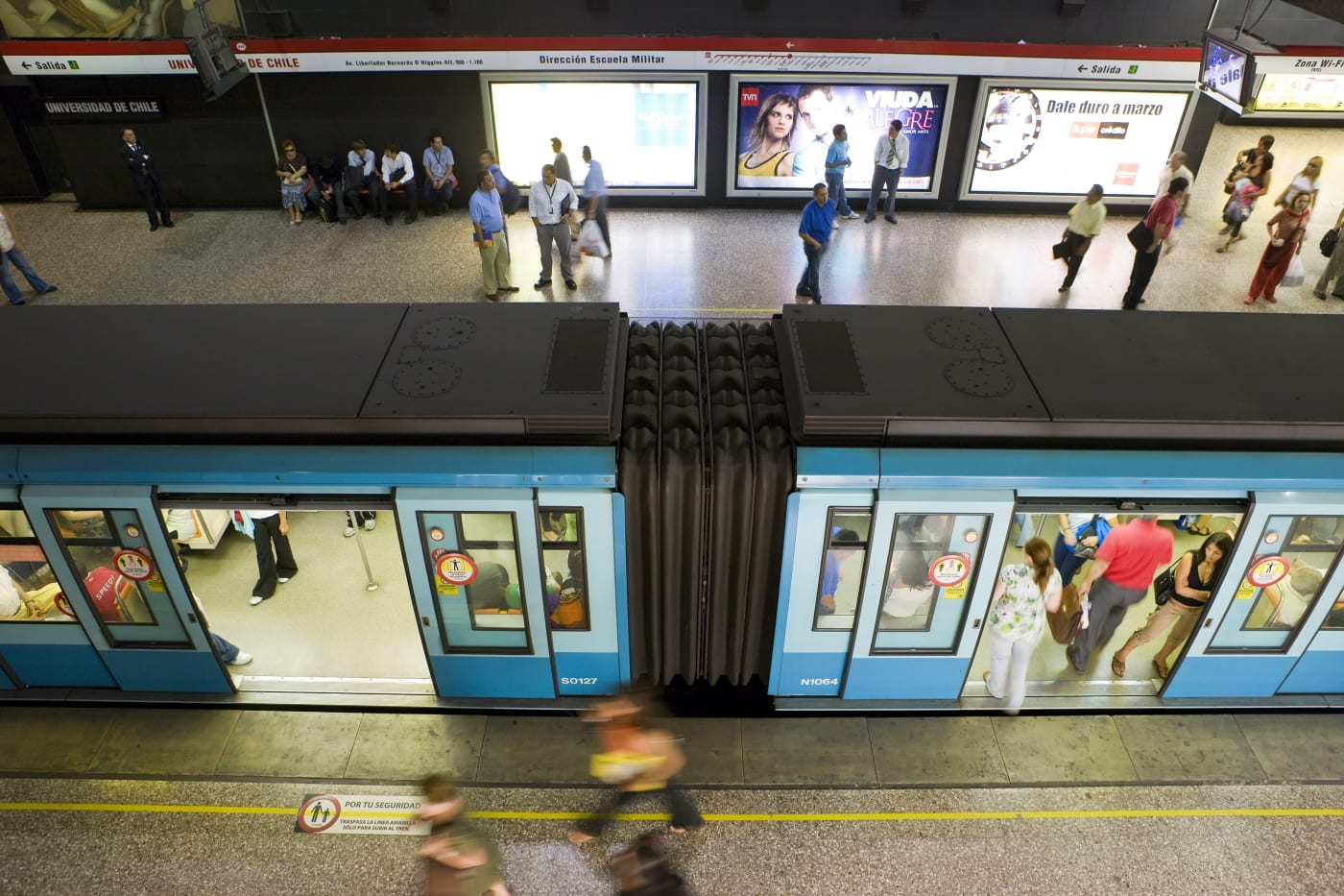 Santiago subway will be the first powered mostly by the sun
