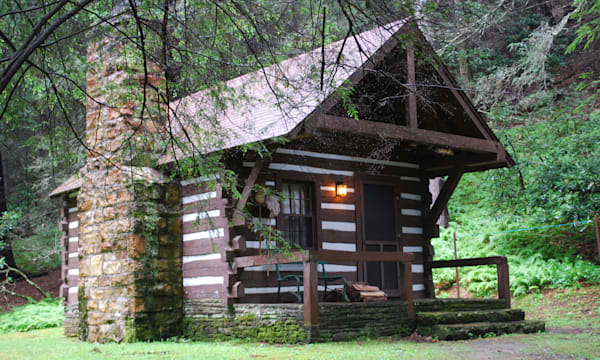 cabin (Watoga State Park, WV)