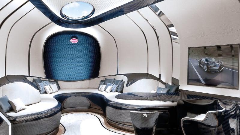 Bugatti Niniette 66 interior