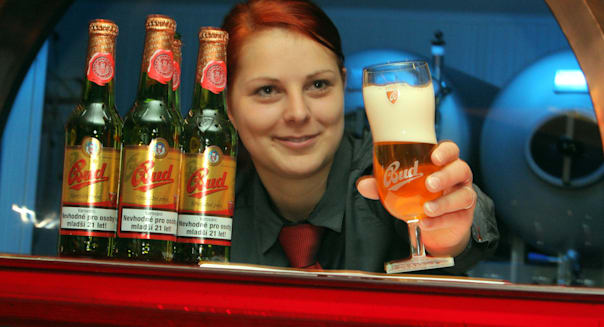 New Czech Bud Beer