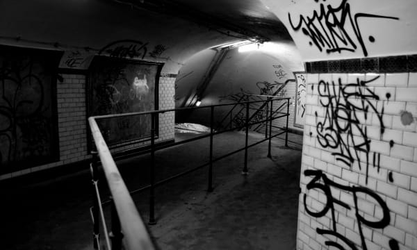 Abandoned Subway Stations Ghost Station