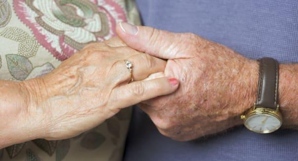 happy senior adult couple...