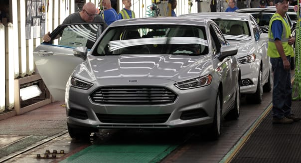 Ford Considers More U.S. Production After Boosting Fusion Output