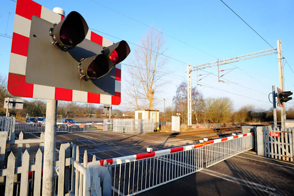 Level crossing stock