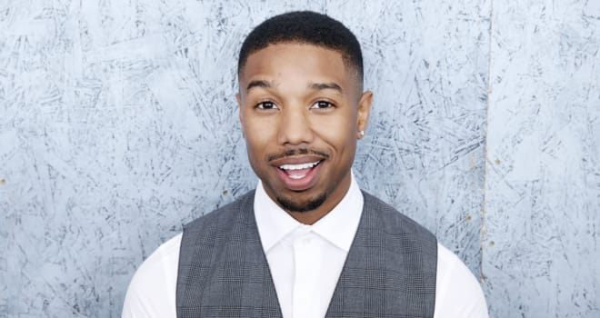 France Cannes Michael B Jordan Portraits