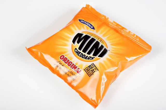 McVities Mini Cheddars