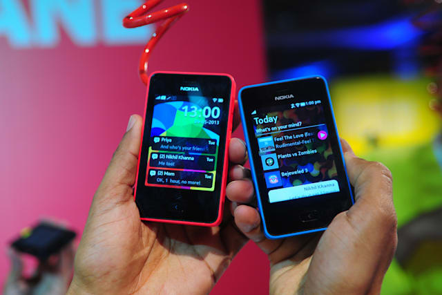 Launch Of Nokia Asha