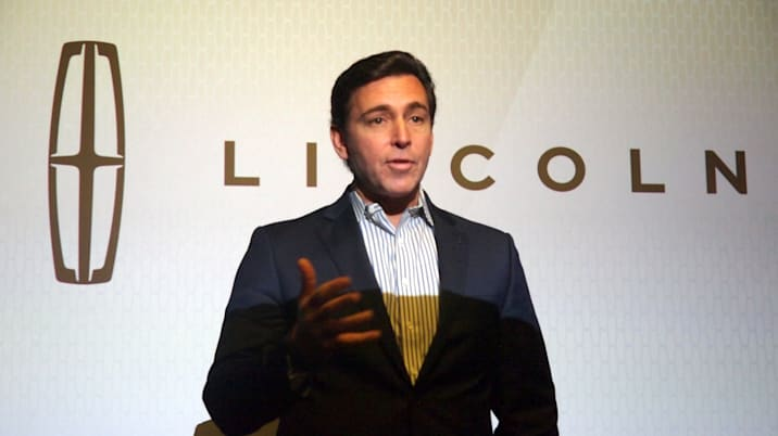 Lincoln CEO Mark Fields