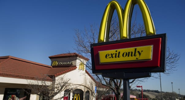 McDonald's Profit Is Little Changed as U.S. Store Sales Drop