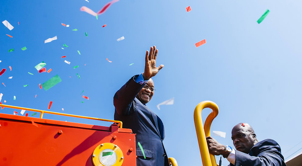 South Africa's President Zuma Launches Trans African Locomotive