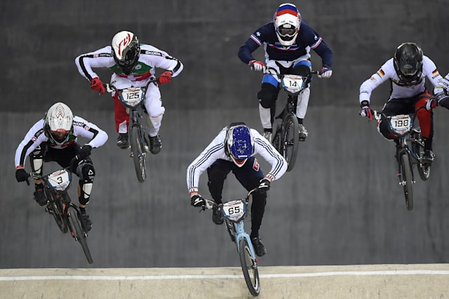 BMX Supercross World Cup - Round Two - Day Two - National Cycling Centre