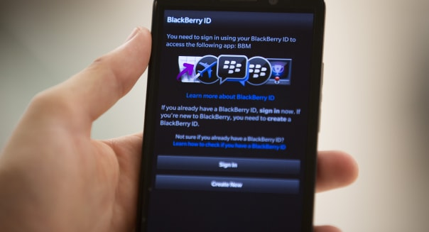 BlackBerry Ltd. Launch Their New Z30 Smartphone As Buyout Talks Continue