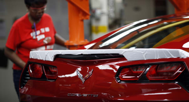 Tour Of A General Motors Co. Corvette Manufacturing Facility