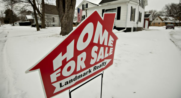 December Home Prices Slip on Lower Sales
