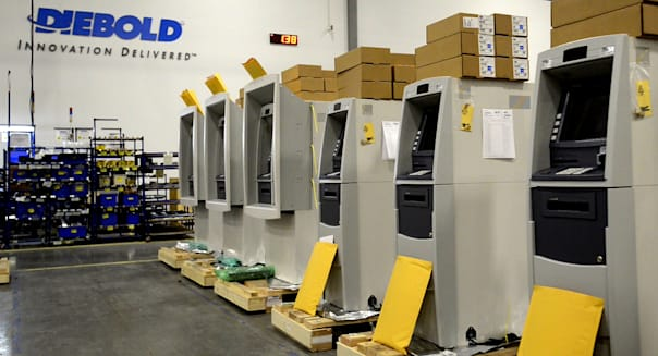 ATM Manufacturing At A Diebold Inc. Facility Ahead Of Durable Goods Orders