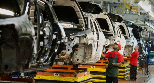 Tour of Fiat/Chrysler Jeep Plant's World Class Manufacturing System