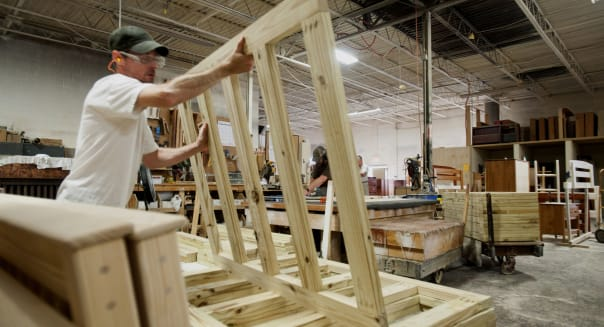 Operations At The Bunk & Loft Factory Ahead Of Durable Goods Figures