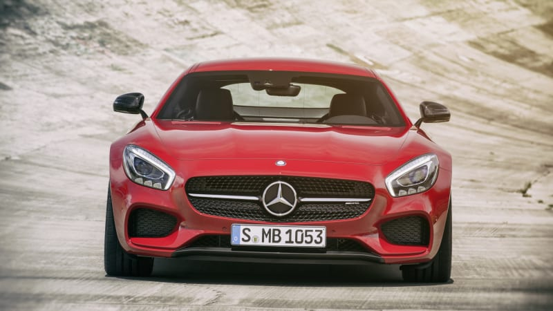 The 2017 Mercedes-AMG GT keeps costs down with vinyl seats