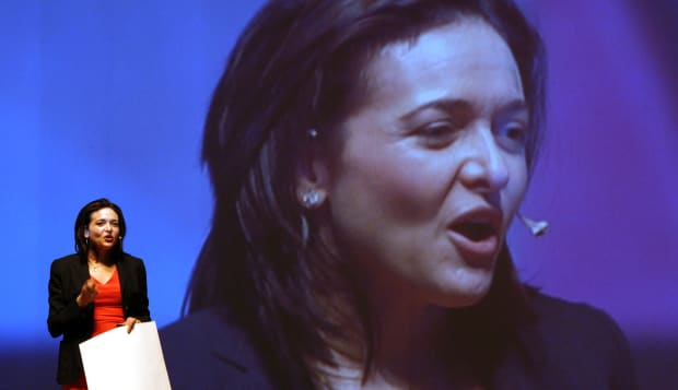 Facebook Chief Operating Officer Sheryl Sandberg Speaks At Yonsei University