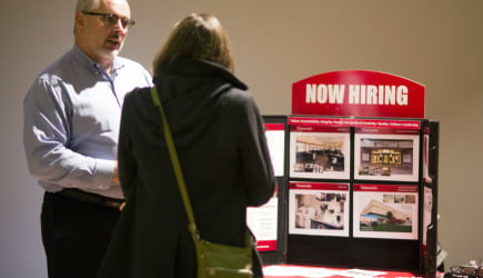 A Choice Career Fair As Jobless Claims Unexpectedly Drop To Two-Month Low