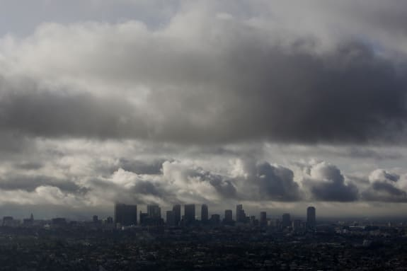 L.A. Rainstorms Moved Through Quicker Than Predicted