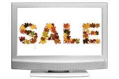 word 'sale' is written wirth...
