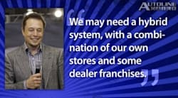 Autoline Daily quoting Elon Musk on Tesla Dealerships