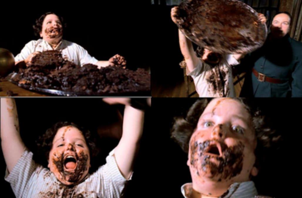 Matilda Movie Chocolate Cake