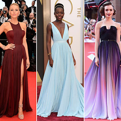 2014 wrap-up: The year's best red carpet looks