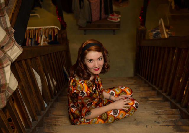 My Vintage Wardrobe: Fashion blogger Sinead Wilcox  give us a sneak peak into her amazing vintage wardrobe.