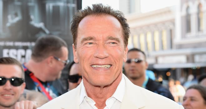 Arnold Schwarzenegger at the Comic-Con 2013 'Escape Plan' Premiere