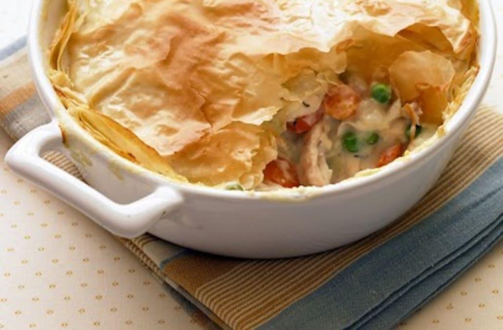 Lighter Chicken Pot Pie - AOL Food