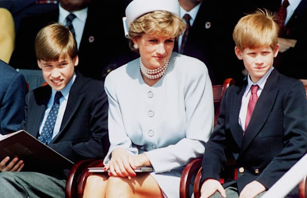The trailer for William and Harry's new Princess Diana doc has landed