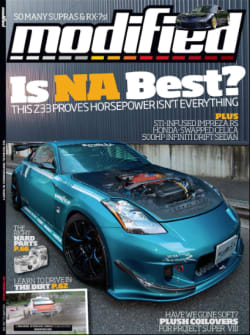 Modified Magazine cover