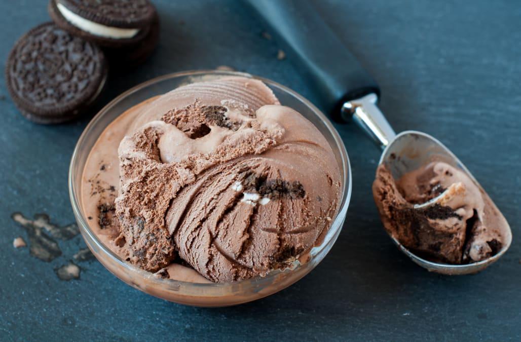 Chocolate Oreo Ice Cream - AOL.com
