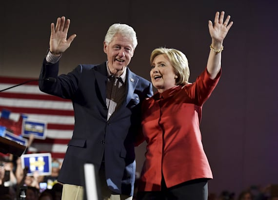 BIll Clinton earned millions from for-profit college