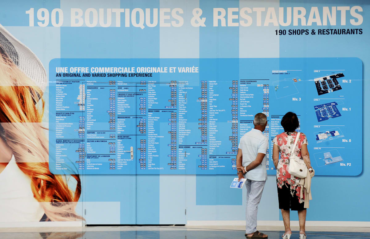 FRANCE-ECONOMY-DISTRIBUTION-RETAIL-CONSUMER-SHOPPING-REAL-ESTATE