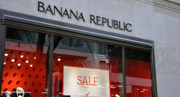 Banana Republic store, New York, USA