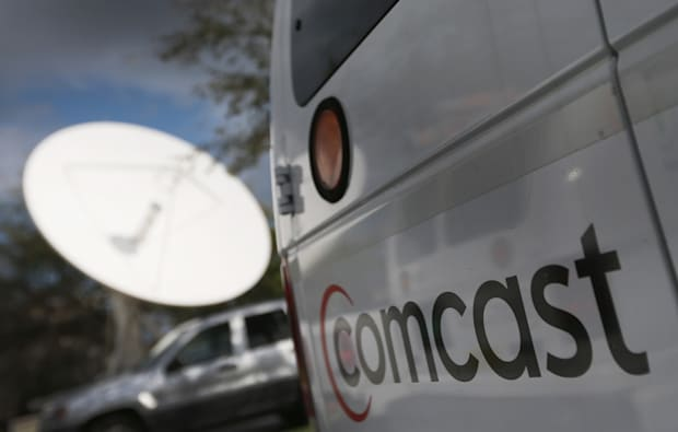 Comcast truck - photo by Joe Raedle/Getty Images