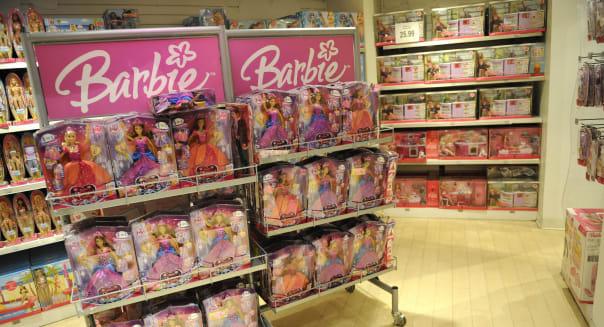 Mattel 4Q Revenue Drops as Barbie sales Slip