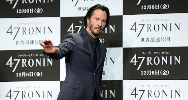 keanu reeves point break remake
