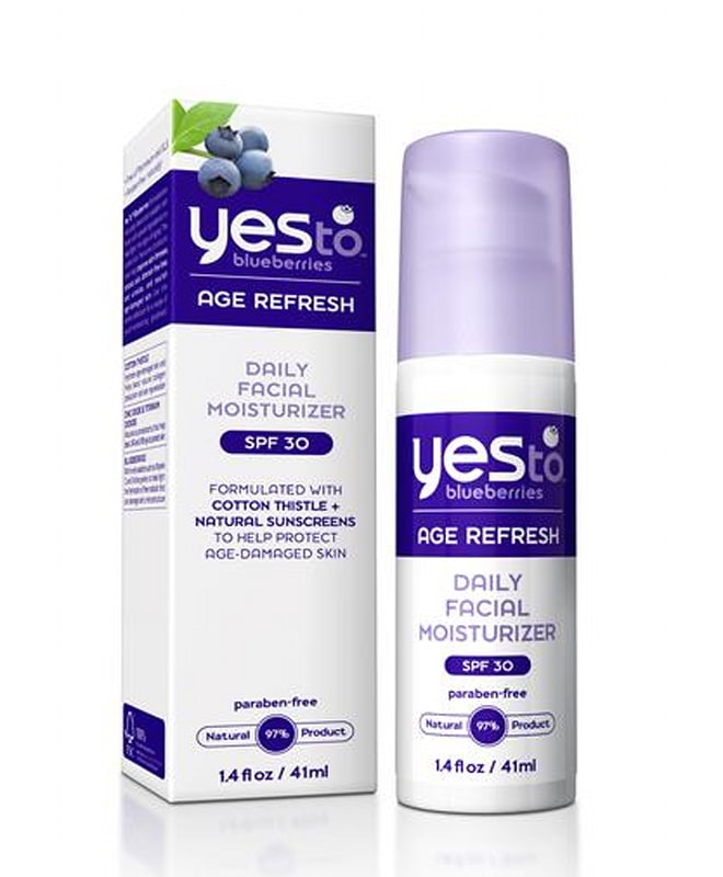 say yes to blueberries moisturizer superfood