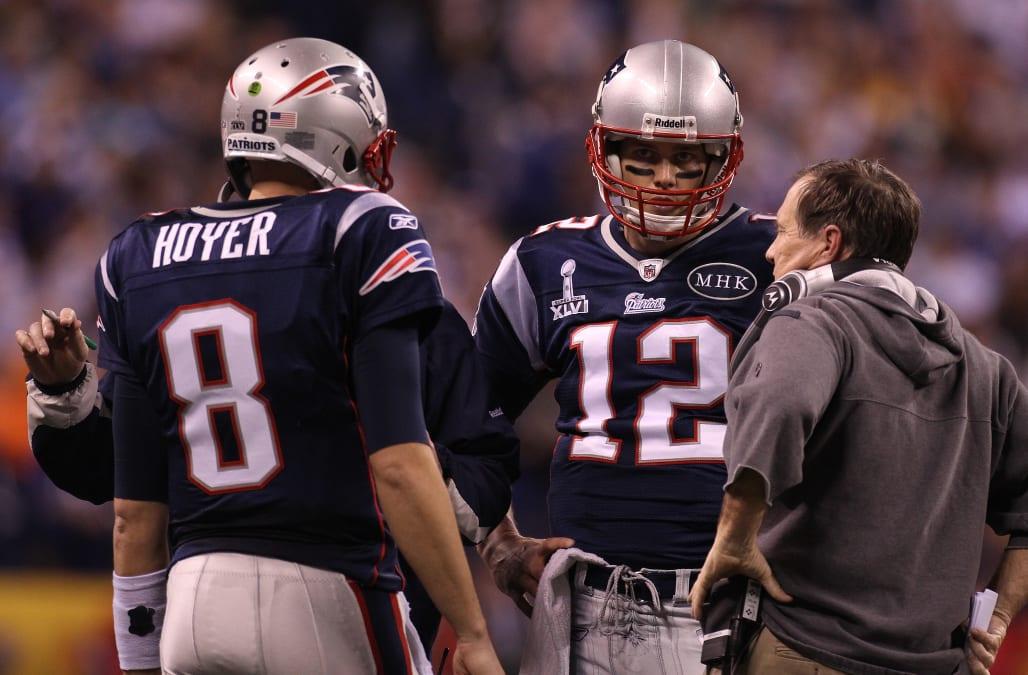 Super Bowl XLVI: New England Patriots Vs. New York Giants At Lucas Oil Stadium