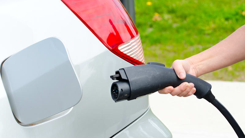 EV Electric Vehicle Charger Refueling - Victoria, Canada