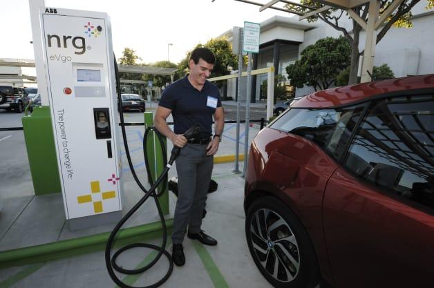 NRG eVgo - Unveiling of Charging Station