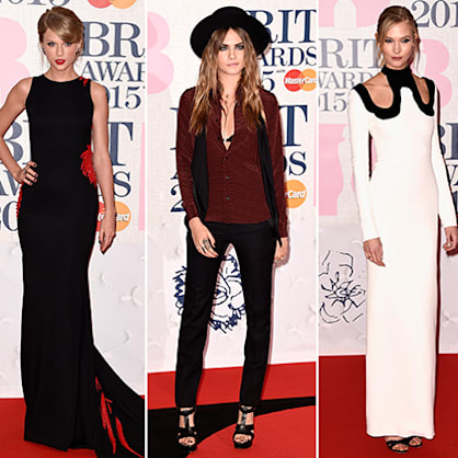BRIT Awards 2015 red carpet: Taylor Swift, Karlie Kloss and more