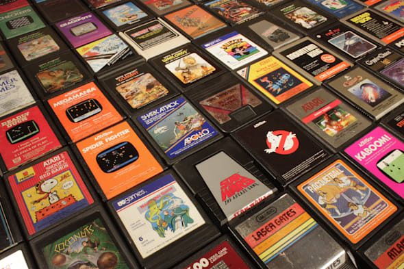 Game catridges for the Atari console