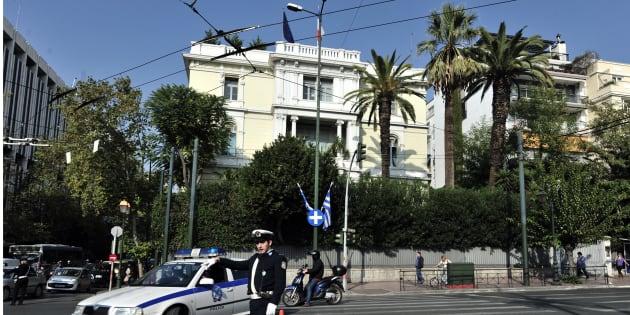 Grèce : Jet de grenade devant l'ambassade de France
