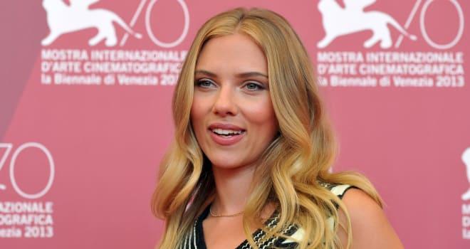 Scarlett Johansson at the 2013 Venice Film Festival
