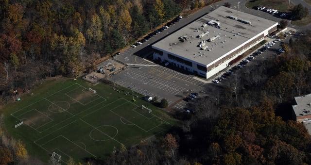 Sandy Hook Elementary School in Monroe